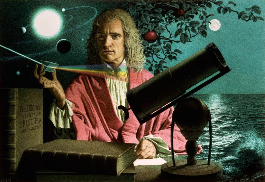 Секретные дневники Исаака Ньютона